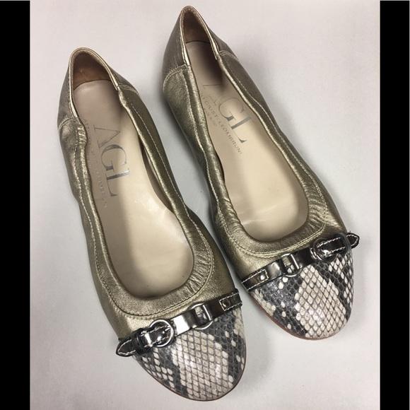 Attilio Giusti Leombruni Shoes   Agl Suede Perforated